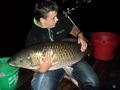 Jezioro Rogóżno, 07 czerwca 2014 roku, amur - 23 kg
