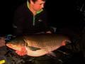 Jezioro Rogóżno, 1 maja 2014 roku, amur - 23 kg