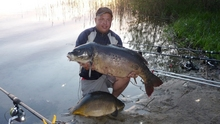 Karol Oraczewski i jego karp 22 48 kg