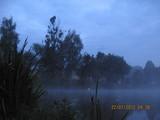 Chłodno, mokro, no i ta cisza na wodzie...