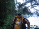 Henio, stary wędkarski wyga, aż się nie chce wierzyć, bez ryby!!!!!!!!
