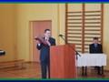 Prezes Koła Kalisz Miasto Mieczysław Machajewski podczas odczytu zarysu historii naszego Koła od roku 1922