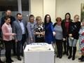 W ramach podziękowań - pyszny tort z logo fundacji ZERKNIJ TU