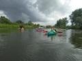 A to jeszcze przypomnienie jak z pogoda bywało na spływach  rzeką Wartą w czerwcu 2018r.
