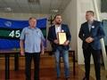Burmistrz Żerkowa  Michał Surma i sekretarz Bartłomiej Nowicki  życzą dalszej tak dobrej współpracy.