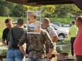 """1.25 sierpnia 2019 r od samego rana nad """"STAWEM"""" w Pogorzelicy ( kiedyś zwanym """"Jeziórkiem"""") trwały przygotowania do wędkarskich zawodów dla dzieci."""