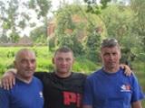 Zawodnicy zwycięskiego teamu z Żerkowa ( od lewej) Mirosław Ratajczak, Damian Kolanowski i Krzysztof Spychała