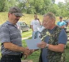 W kategorii seniorów I miejsce zdobywa Wojciech Waszak