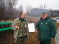 Zwycięzca zawodów kolega Tadeusz Roczniak