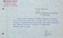archiwalne dokumenty Koła Miejskiego PZW w Kołobrzegu