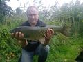 Ryba została złowiona 22 września 2013 r. w jeziorze Niepruszewskim o godzinie 4:10 przez kol. Mirosława Błaszaka. Ryba ważyła 5,16 kg. Przynetą była truskawkowa kulka proteinowa.