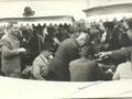 Wędkarze biorący udział w zawodach wędkarskich międzyokręgowych Wrocław - Katowice - Opole na łowisku Studzienna w roku 1968 r.