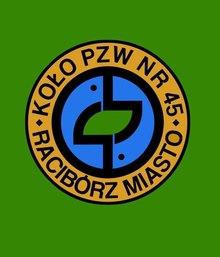 Logo Koła PZW Nr 45 RacibórzMiasto