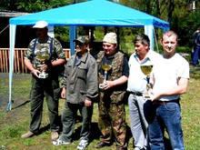 Jubileuszowe zawody w Kole PZW Nr 31 Kuźnia Raciborska w roku 2003