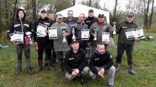 Uczestnicy zawodów karpiowych o Pierwszy Puchar Carp Way