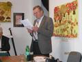 Sekretarz Koła  Aleksander Kozicki  odczytał sprawozdanie z działalności Koła za 2013 r.