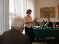 Skarbnik Koła  Marta Drela- odczytała  Sprawozdanie roczne finansowo- księgowe za 2013 r. oraz Preliminarz proponowanych kosztów Koła  na 2014 r.