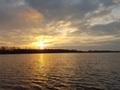 Listopadowy zachód słońca 26.11.2017 r.