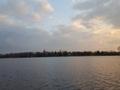 Jezioro pod koniec listopada 26.11.2017 r.