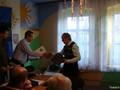 Wędkarz Roku Tadek Nieznański odbiera nagrodę za całoroczny wysiłek