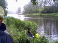 Widok kanału Żerańskiego w trakcie trwania Zawodów.