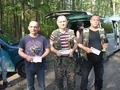 Trójka seniorów Zenek, Piotr i Mariusz Olczak. Gratulujemy.
