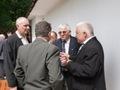 Prezes Marek wraz z Markiem Dyrka ,Krzysztofem Krysteckim i Stanisławem Tanikowskim każda chwila jest dobra by porozmawiać o wędkarstwie