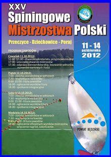 Spinningowe Mistrzostwa Polski 12  14102012