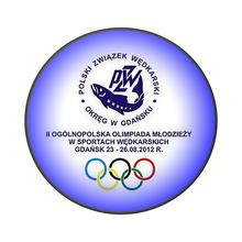 Olimpiada Młodzieży w Sportach Wędkarskich  Gdańsk 2012