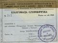 Legitymacja członkowska-1946 r.