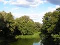 Widok z mostu w Brodach