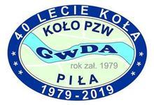 Logo Koła PZW Gwda Piła 40lecie