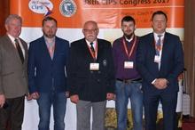 Od lewej 1 Dionizy Mikołajczyk  2 Andrzej Wnękowicz  3      Dionizy Ziemiecki  4      Tomasz Solka  5      Marcin Wiśniewski
