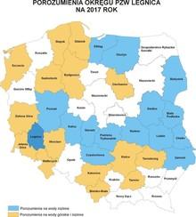 Mapa porozumień na 2017 rok