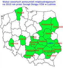 Mapka porozumień na 2010 rok
