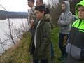 Obserwacja tarła głowacicy i lipienia na rzece San