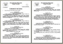 Komunikat 22010
