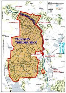 mapa poligonu