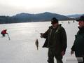 Największa ryba zawodów okoń 27cm