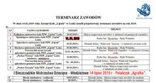 Zawody PZW Lipień Lesko
