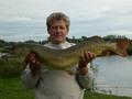szczupak 111cm złowiony na łowisku koła w dniu 2007-09-10