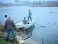 członkowie koła przy odłowach śniętej ryby 2006r
