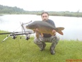 Karp , 8,6 kg , Kulka własnej produkcji , Sosenki , 1-06-2014 -T.Batruch
