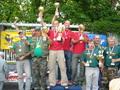 Zwycięzcy na podium:1miejsce Robinson Team