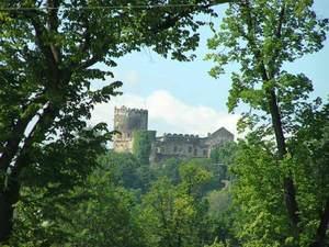 Panorama zamku Bolków