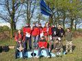 Seniorzy - Laureaci GP 2008. Pamiątkowe foto z Wiceprezesem ds. Sportu