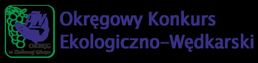 Logo Okręgowego Konkursu Ekologiczno-Wędkarskiego