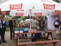 część oficjalna, od prawej: dyrektor ZO PZW Zielona Góra Wojciech Raunke, Sędzia Główny zawodów Jan Kanduła oraz Prezes PZW nr 5 Świebodzin Leszek Leszczyński