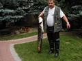 Tomek Tomczak z sumem 120 cm. 10,5 kg. złapany w Warcie w miejscowości Dębno na spinning.
