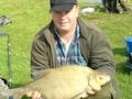 Leszcz dł. 67cm, waga 3,86kg złowiony 6.9.2009 na białego robaka w rzece Odrze w okolicach Trestna. Czas holowania ryby ok. 5 min.